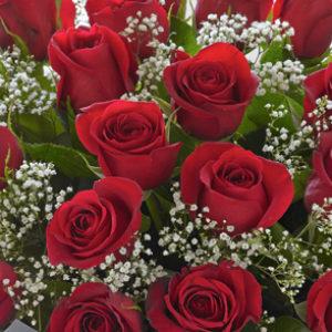Ανθοδέσμη με τριαντάφυλλα/τιμή ανα τριαντάφυλλο