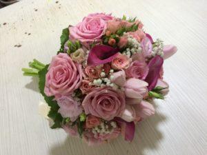 nifiki anthodesmi, νυφική ανθοδέσμη, γάμος, τριαντάφυλλα, λευκό, κατερίνη γάμος, katerini pieria