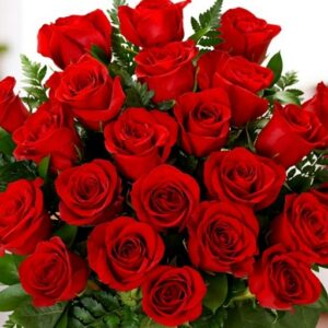 Wonderfull bouket with 15 wonderfull roses